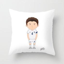 Steven Gerrard - England - World Cup 2014 Throw Pillow