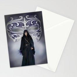 Black Mask Guardian Stationery Cards