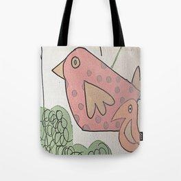 seeking birds Tote Bag
