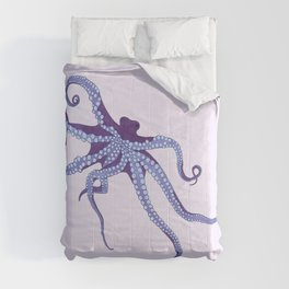 Awesome Purple Octopus Comforters
