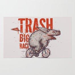 Trash BIG RACE Rug