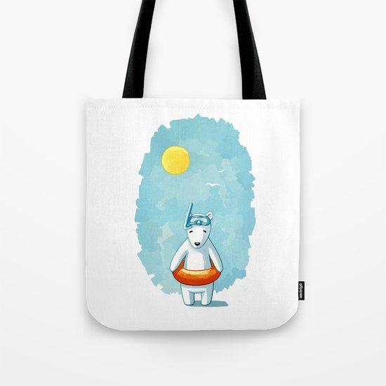 Polar Beach Tote Bag