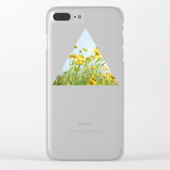 Lie Back and Think of England Clear iPhone Case