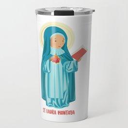 St Laura Montoya. Mother Laura Travel Mug