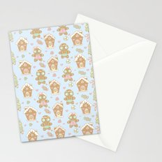 Gingerbread Sweethearts Stationery Cards