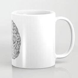 Brain vintage illustration Coffee Mug