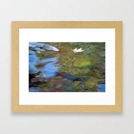 Mystic Waters Framed Art Print