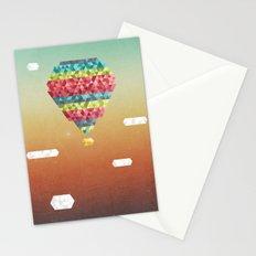 Triangular Skies Stationery Cards