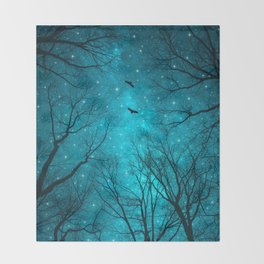 Stars Can't Shine Without Darkness Throw Blanket