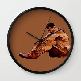 Failure is not an option - acrylic on wood  Wall Clock