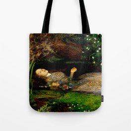 "John Everett Millais ""Ophelia"" Tote Bag"