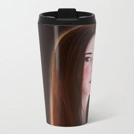 Girl illustration Travel Mug