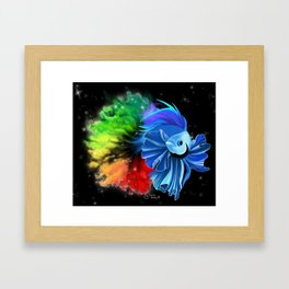 Stellar Betta Framed Art Print