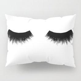 Eye Lashes Pillow Sham