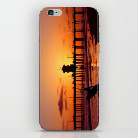 Surfers Sunset iPhone & iPod Skin