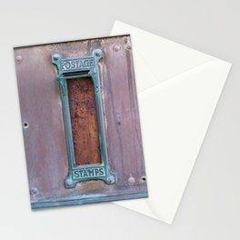Communication - Vintage Art Deco Post Offic Mailboxes Stationery Cards