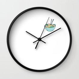 Ramen Soup Bowl Wall Clock