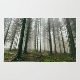Follow me into the woods Rug