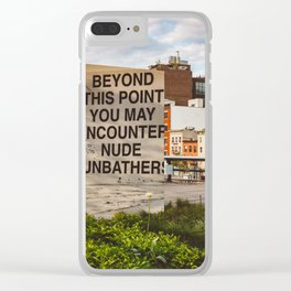 Highline View III Clear iPhone Case