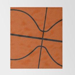 Fantasy Basketball Super Fan Free Throw Throw Blanket