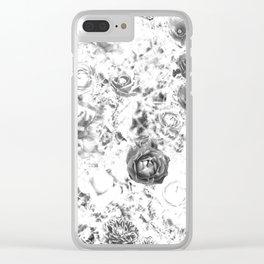 winter rose Clear iPhone Case