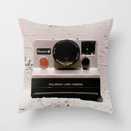 Pronto B Land Camera, 1977 Throw Pillow