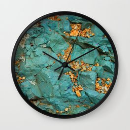 Gold and Copper Wall Clock