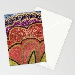 Gel Flower Art Stationery Cards