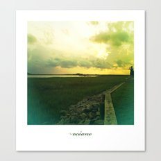océano 7 Canvas Print