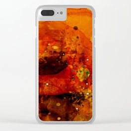 Italian intermezzo Clear iPhone Case
