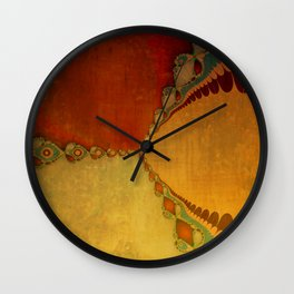 Southwestern Sunset 1 Wall Clock