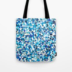 Icy triangles Tote Bag
