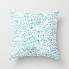 Cool Blue Throw Pillow