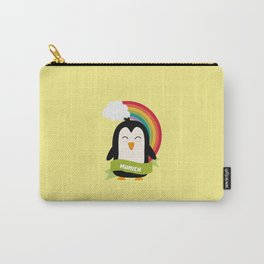 Penguin Rainbow from Munich T-Shirt for all Ages Carry-All Pouch