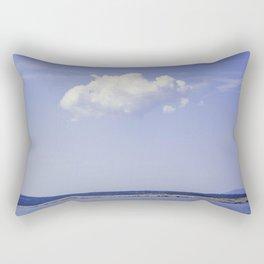 Single Cloud Over Adriatic Sea Rectangular Pillow