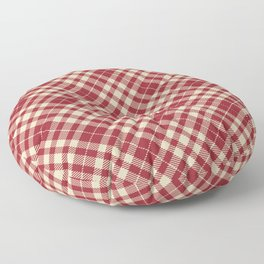 Holiday Plaid 14 Floor Pillow