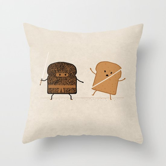 Slice! Throw Pillow