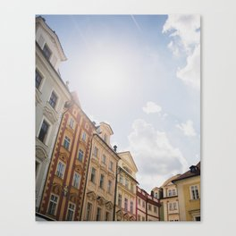 Old Town Square, Prague Canvas Print