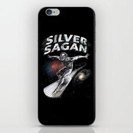 Silver Sagan iPhone Skin