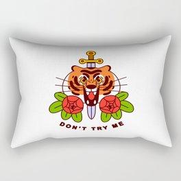 Don't Try Me Rectangular Pillow