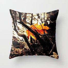 Tree Star Throw Pillow