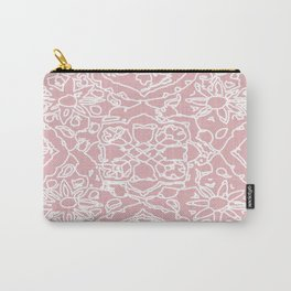 Isola Signature Print Dusty Pink  Carry-All Pouch
