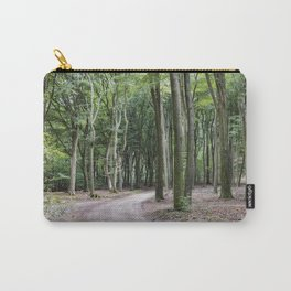 trees in national park in holland Carry-All Pouch