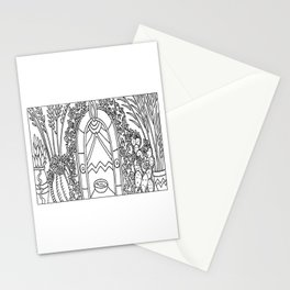 Desert Doorway Stationery Cards