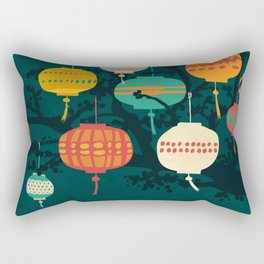 Lanterns Rectangular Pillow