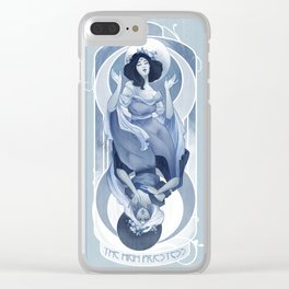 The High Priestess Clear iPhone Case