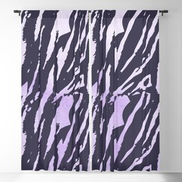 Tiger Rose Watercolor Gradient Blackout Curtain