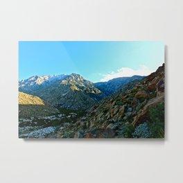 California Mountains Metal Print