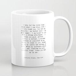 Jane Eyre Quote Coffee Mug