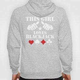This Girl Loves Blackjack Hoody